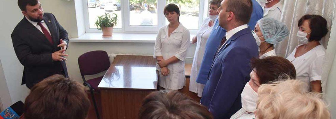 Медицина, лифты, уличное освещение: какие поручения дал Глава ДНР по Иловайску